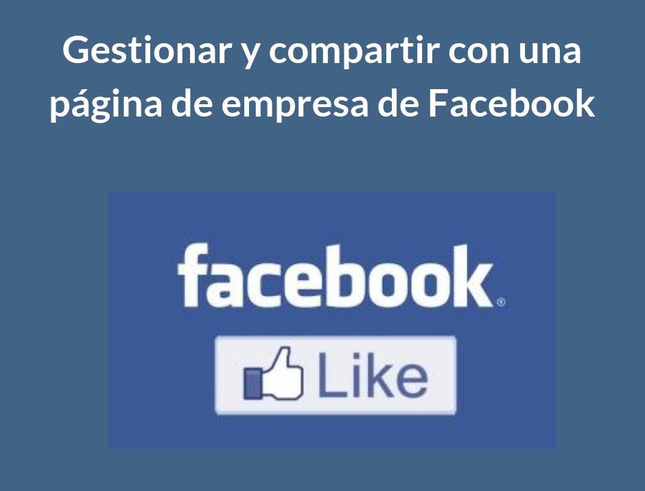 fanpage empresa facebook - redcoop.es