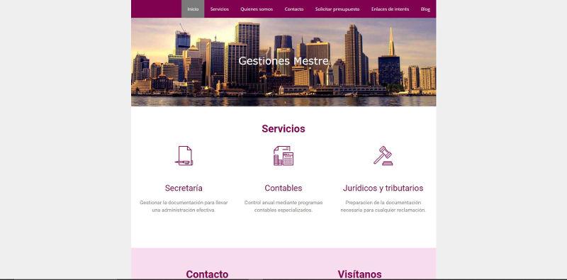 web gestionesmestre.es