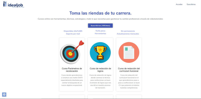 web idealjob.es